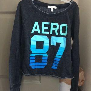 Aeropostale cute cropped shirt